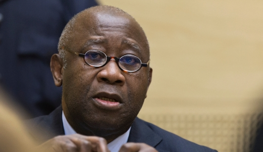 Former President Of Ivory Coast, Laurent Gbagbo In The Hague, International Criminal Court