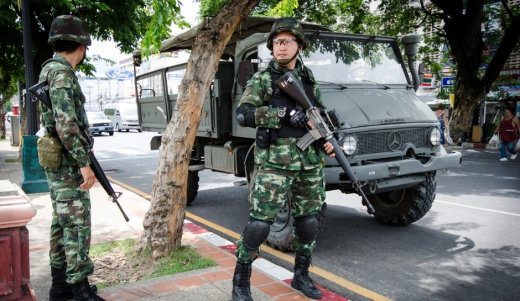 Lèse majesté law enforced by military rule after coup in Thailand