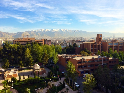 Sharif University of Technology in Tehran, Iran