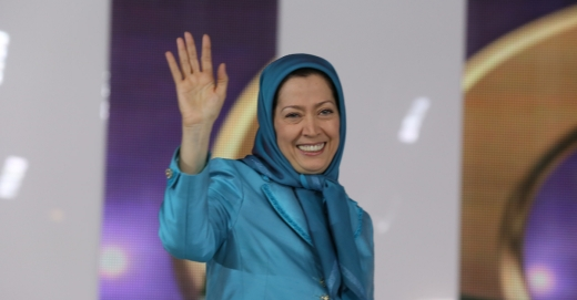 Maryam Rajavi attended major annual Free Iran event, this one was in 2014.